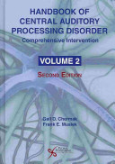 Handbook of Central Auditory Processing Disorder  Comprehensive intervention PDF