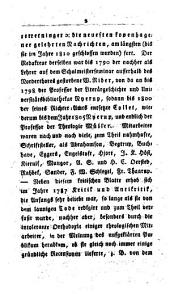 Litterärgeschichte Dänemarks in den letzten Jahren der Regierung Christian VII. ... Nach einer Handschrift des Verfassers deutsch übersetzt. (Nachträge.).