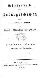 Gariofilata - Herinaceus: Sechster Band