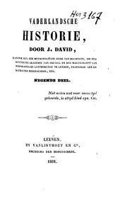 Vaderlandsche historie: Volume 9