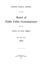 Report: Volume 4, Part 1913