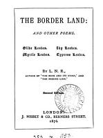 the border land  and other poems PDF