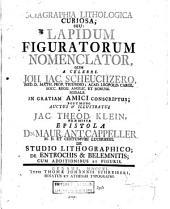 Sciagraphia lithologica curiosa: seu: lapidum figuratorum nomenclator