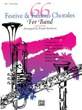 66 Festive and Famous Chorales for Band for Orchestra Bells
