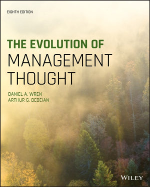 The Evolution of Management Thought PDF