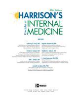 Harrison s Principles of Internal Medicine  17th Edition PDF
