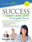 Success on the Upper Level SSAT Book