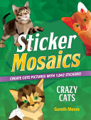 Sticker Mosaics: Crazy Cats