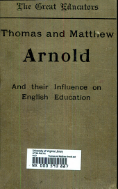 Thomas and Matthew Arnold and their influence on English education