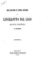 Dell' illustre et famosa historia di Lancillotto dal Lago alcuni capitoli a saggio: Edizione 23