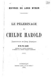 Le pélerinage de Childe Harold