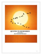 Quotes To Remember (Volume 4)