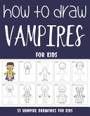 How to Draw Vampires for Kids