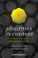 Identities in Context PDF