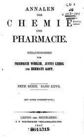 Annalen der Chemie und Pharmacie: Bände 27-28;Bände 103-104