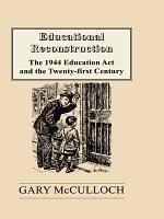 Educational Reconstruction PDF