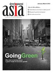 Development Asia—Going Green: January–March 2012