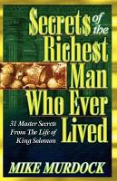 Secrets Of The Richest Man Who Ever Lived PDF