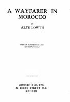 A Wayfarer in Morocco PDF