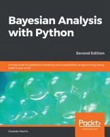 Bayesian Analysis with Python PDF
