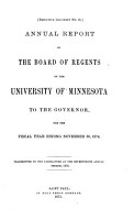 Report of the Board of Regents PDF