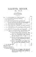 THE CALCUTTA REVIEW  VOLUME LXXVIII  1884 PDF
