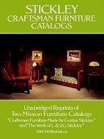 Stickley Craftsman Furniture Catalogs PDF