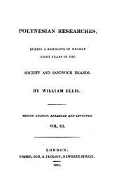Polynesian Researches: Volume 3