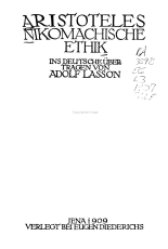 Nikomachische Ethik PDF