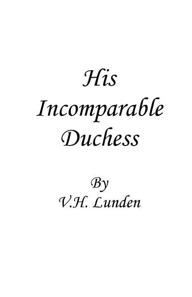 Download His Incomparable Duchess Book