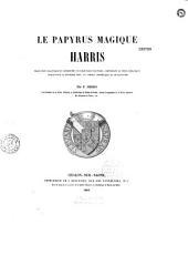 Le papyrus magique Harris