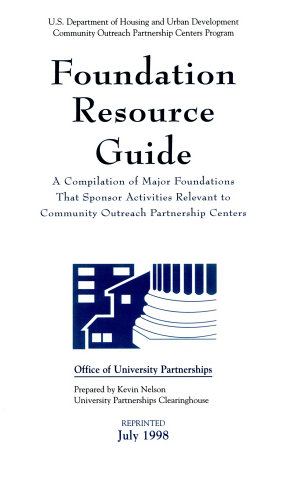 Foundation Resource Guide