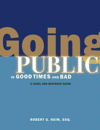 Going Public in Good Times and Bad PDF