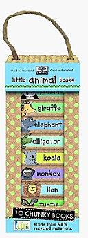 Green Start Book Towers  Little Animal Books