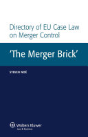 Directory of EU Case Law on Merger Control PDF