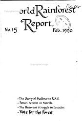 World Rainforest Report PDF