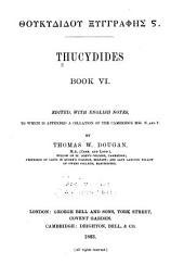 Thucydides: Book 6