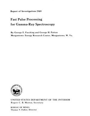 Fast Pulse Processing for Gamma-ray Spectroscopy