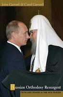 Russian Orthodoxy Resurgent PDF