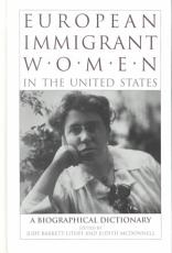 European Immigrant Women in the United States PDF