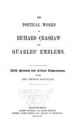 Poetical Works: And, Quarles' Emblems