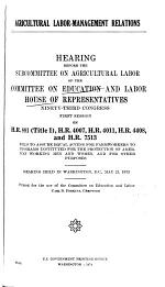 Hearings, Reports and Prints of the House Committee on Banking, Currency, and Housing