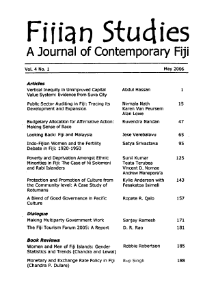 Fijian Studies PDF