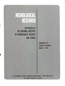 Neurological Research Supported by the National Institute of Neurological Diseases and Stroke PDF