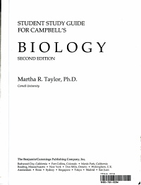 Student Study Guide for Campbell s Biology Second Edition