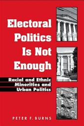 Electoral Politics Is Not Enough: Racial and Ethnic Minorities and Urban Politics