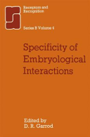 Specificity of Embryological Interactions