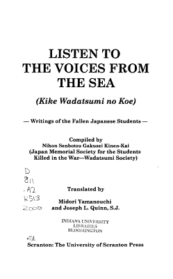 Listen to the Voices from the Sea PDF
