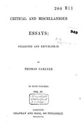 Critical and Miscellaneous Essays: Volume 4