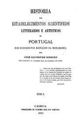 Historia dos estabelecimentos scientificos: 1854-1861